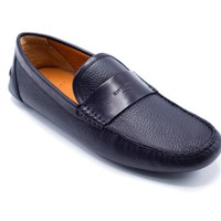 Givenchy Men's Black Leather Leather Loafers Moccasins