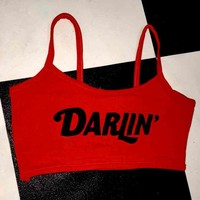 SWEET LORD O'MIGHTY! DARLIN BRALET IN BURNT