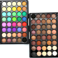40 Colors Colourpop Matte Naked Eyeshadow Pallete Professional Lasting Make Up Cosmetics Kyshadow Shades Eye Shadow Set H20