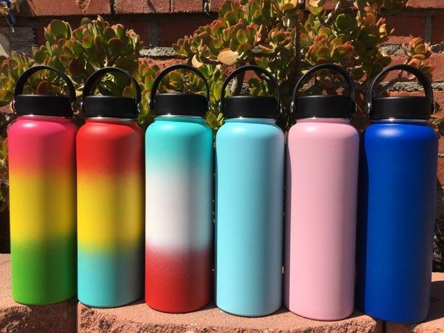 Image of Engrave My Flask Hydro Flask, Handle Lid, 40oz, Blank