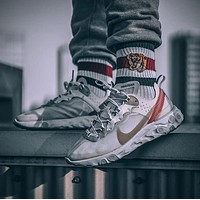 Nike React Element 87 Full Palm Air Mesh Mesh Breathable Sneakers