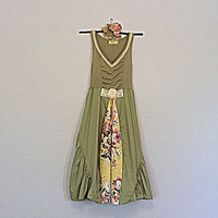 Recycled Dress | OOAK Unique Clothing | Women's Fashion | Altered Couture