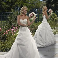 Forever Yours Wedding Dress Style #411135: Prom Gowns, Bridal Gowns, Bridal Dresses, Bridesmaids Gowns & Formal Dresses from TheBridalShop.com