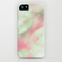 Pastel Christmas iPhone & iPod Case by Caleb Troy