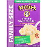 Annies Homegrown: Mac And Cheese Shell White Cheddar, 10.5 Oz