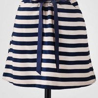 Twin Bridges Striped Skirt