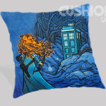 Disney Brave The Doctor Who Pillow Cover