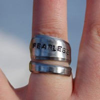 fearless by CandleBrightCreation on Etsy