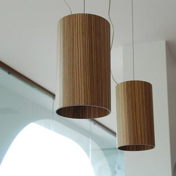 chandelier lighting lampadario lampada legno sospensione lamp wood pair led modern design lighting light luce living room pendant