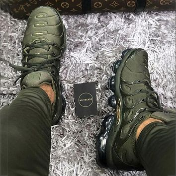 Nike Air Max Vapormax Plus TN Atmospheric Cushion Fashion Personality Men's and Women's Casual Sports Shoes Running Shoes