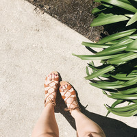 A Free Spirit Sandal in Chestnut