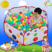 Kids Portable Pit Ball Pool outdoor indoor Baby Tent Play hut Toy = 1946458116