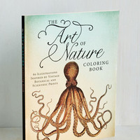 Critters The Art of Nature Coloring Book by ModCloth
