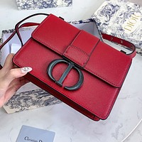 DIOR High Quality Women Shopping Bag Leather Shoulder Bag Crossbody Satchel