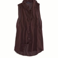 BUTTON DOWN TANK MADE IN ITALY BY AEO