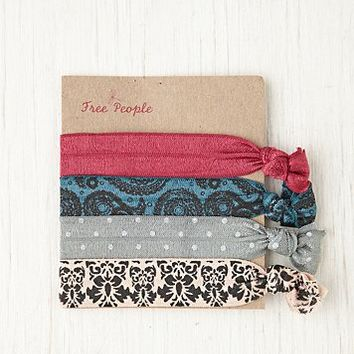 Free People Elastic Printed Hair Ties
