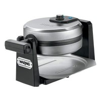 Waring Pro 4-Slice Belgium Waffle Maker in Stainless Steel WMK200 at The Home Depot - Mobile