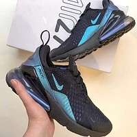 Nike Air Max 270 Flyknit Atmospheric cushion shoe-1