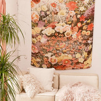 Mina Floral Collage Tapestry - Urban Outfitters