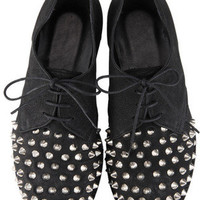 GIENCHI Studded Lace Up Shoes