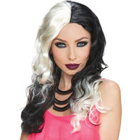 Costume Accessory: Wicked Witch Blonde Black Wig