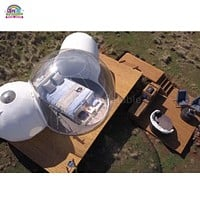 Double Inflatable Eco Bubble Dome Camping Tent
