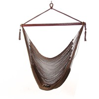 Hanging Caribbean XL Hammock Chair - 5 Colors