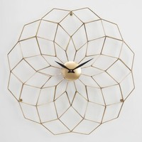 Wyatt Geometric Wall Clock
