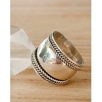 Statement Ring - Sterling Silver (BJR051)