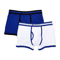 Solid Keyhole Trunks (2 Pack)
