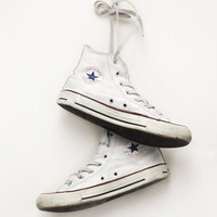 DCCK8NT white leather converse all star hightops