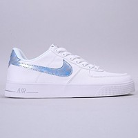Nike Air Force 1 AC BM New fashion reflective hook shoes White