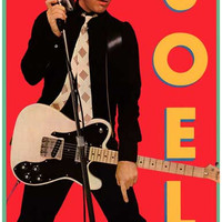 Billy Joel Glass Houses Poster 11x17