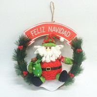 New Christmas Decoration Supplies Indoor Hanging Ornaments Stockings Santa Claus Snowman Christmas Tree Decoration = 1714391812