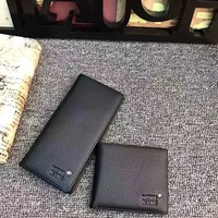 MONT BLANC MEN'S NEW TOP LEATHER WALLET