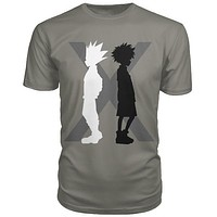Hunter x Hunter - killua and gon - Men Short Sleeve T Shirt - SSID2016