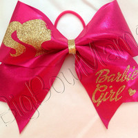 Barbie Girl Cheer Bow
