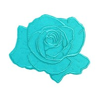 Kim Chi - Teal Rose Patch