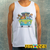 Scooby Doo Mistery Machine Clothing Tank Top For Mens