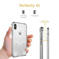 iPhone X Case, iPhone 10 Case,CASY MALL Hybrid Slim Fit Hard Case Drop Protective Cover for Apple iPhone X 5.8 Inch 2017 Release