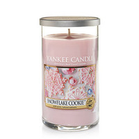 Snowflake Cookie™ : Medium Perfect Pillar Candles : Yankee Candle