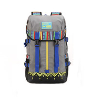 New Ethnic Hiking Camping Backpack Travel Bag Daypack