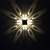 3W Modern led wall light 4 butterfly AC110V 220V beautiful colorful spot light led lamp infoor decoration wall mounted