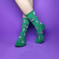 Green Forest Sock
