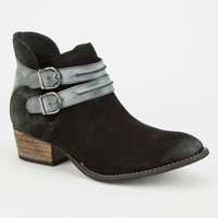 Steve Madden Raskal Womens Booties Black  In Sizes