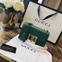 Gucci Women Leather Shoulder Bag Satchel Tote Handbag Shopping Leather Tote Crossbody Satchel Shoulder Bag