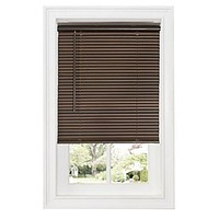 Ben&Jonah Collection Cordless GII Deluxe Sundown 1 inch  Room Darkening Mini Blind 36x64 - Mahogany
