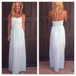 Sweet Heart Strapless Embroidered Maxi Dress - PALE MINT