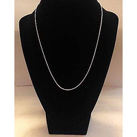 16 inches Silver Necklace