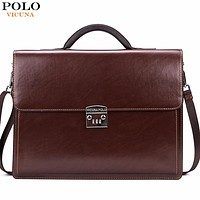 Luxury Business Mens Briefcase With Code-Lock  Business Man Bag